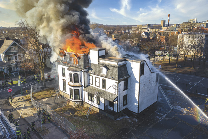 New Haven Vacant 2-Alarm