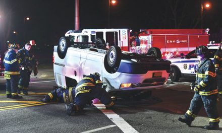 1 Injured in Garden City MVA