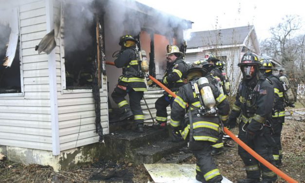 Vacant House Fire in North Amityville