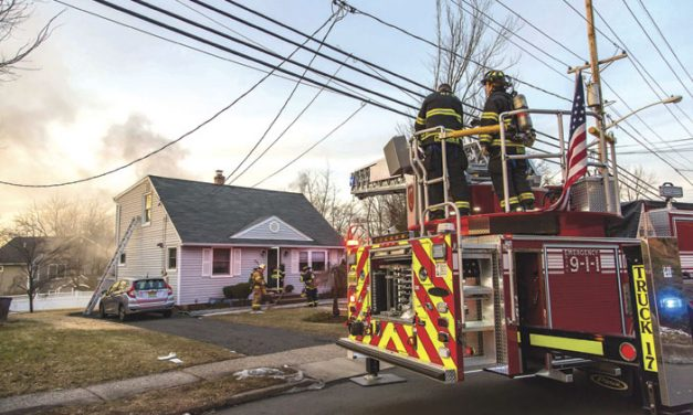 Maywood Electrical Fire