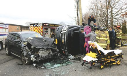 2 Injured in Rocky Point MVA, Fire
