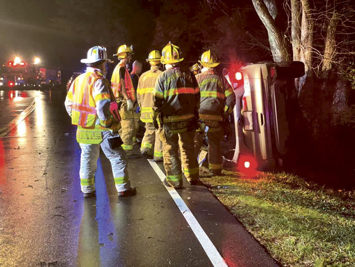 Extrication at Chesterfield MVA
