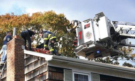 Huntington Manor Roof Rescue