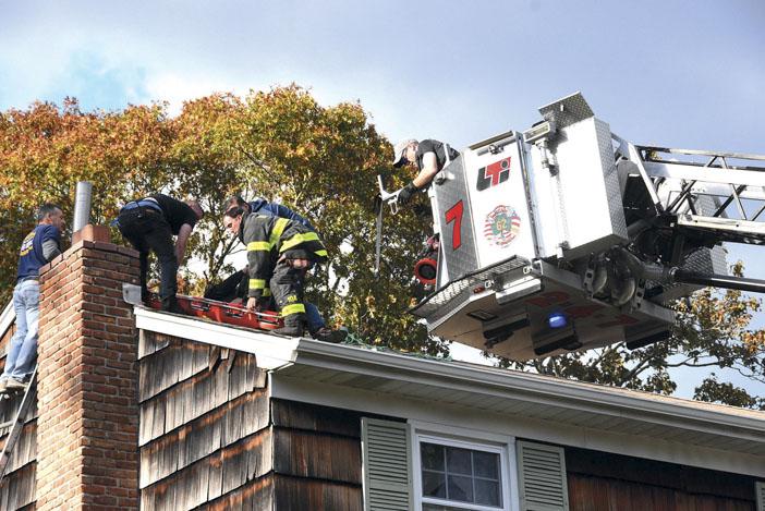 Huntington Manor Roof Rescue