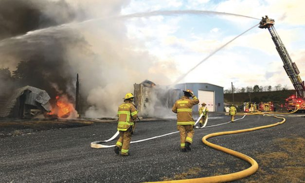 Commercial Collapse in Harrisonburg