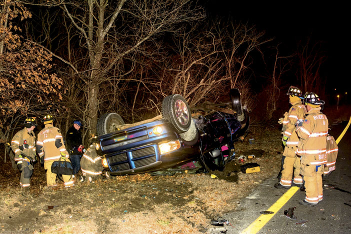 Several Injured in Manorville MVA