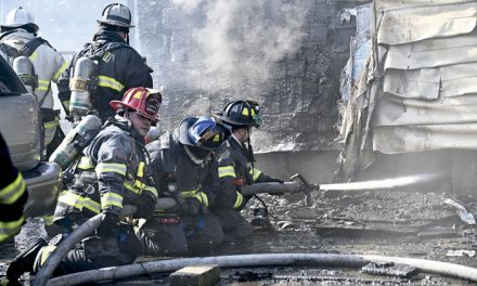 3 FFs Hurt in Farmingdale Blaze