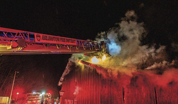 Church Fire in Arlington