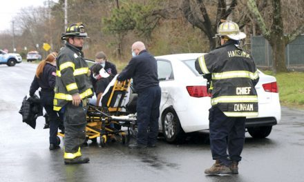 1 Injured in Hagerman MVA