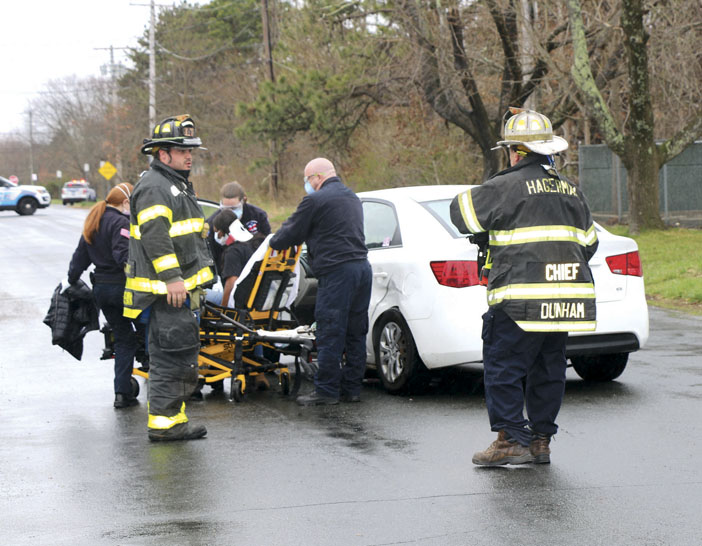 1 Injured in Hagerman MVA