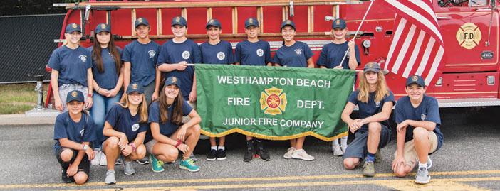 The Westhampton Beach FD Junior Program 2020