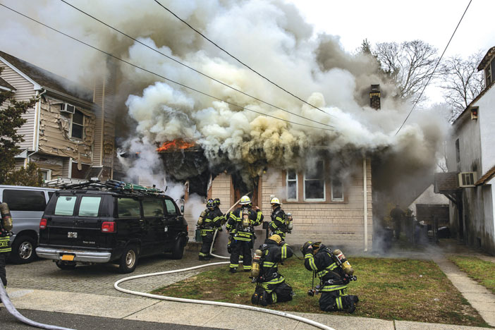 Firefighters Save Man in Barricaded Home
