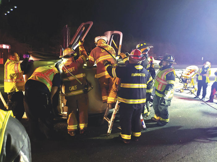 Extrication on the AC Expressway