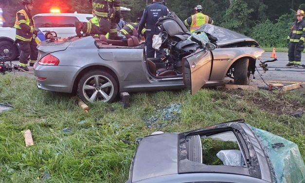 Allamuchy Firefighters Extricate Heavily Entrapped Driver