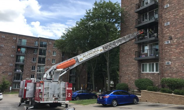 Fire in Six-Story Multifamily Apartment Building Displaces 13 Residents