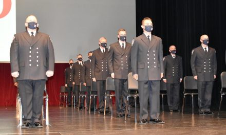 Indianapolis Fire Department's 85th recruit class graduation