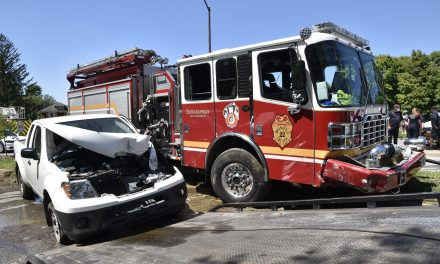 Crash involving fire apparatus in Indianapolis