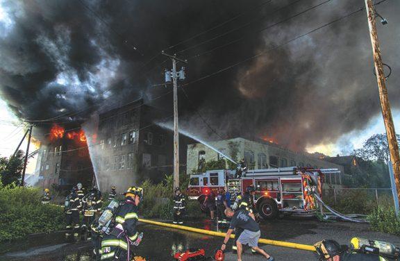 Shelton Multi-Alarm Mill Complex Blaze