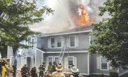 FF Injured in Groton 3-Alarmer