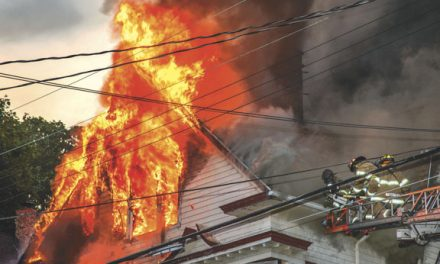 All Out at Waterbury House Fire