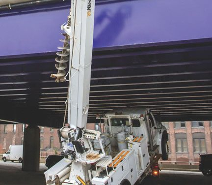 Truck Hits I-290 Bridge in Worcester