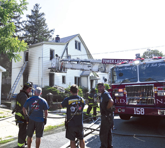 All-Hands Fire in Springfield Gardens