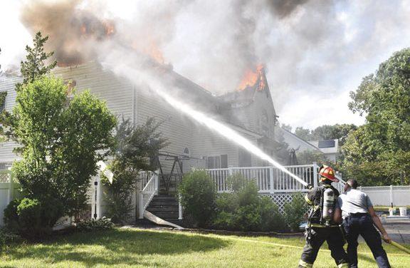Scullville House Fire