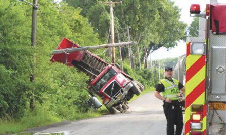 Greenbush Truck Rollover