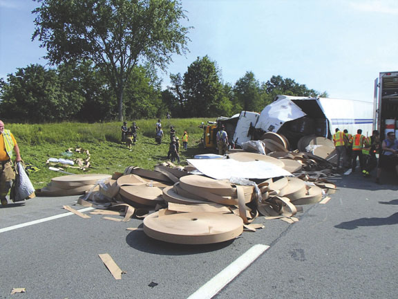 Maybrook Two-Truck MVA Injures 4