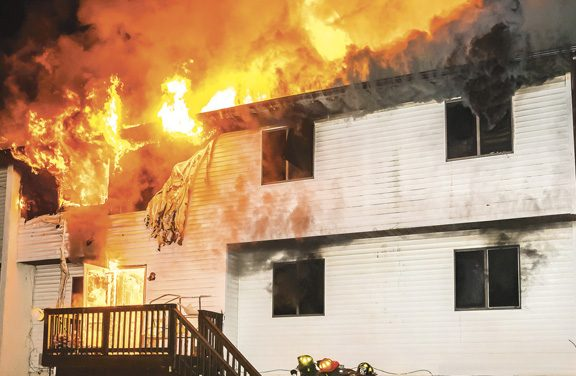 1 FF Injured at Spring Valley Apartment Fire