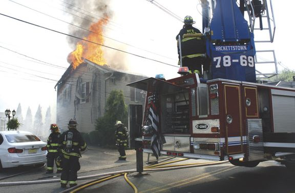 Hackettstown House Fire
