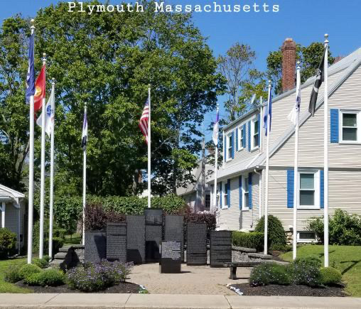 The Plymouth MA 9/11 Memorial