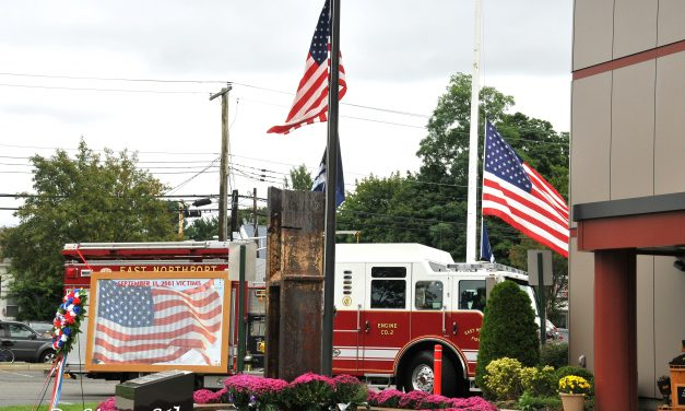The East Northport NY 9/11 Memorial