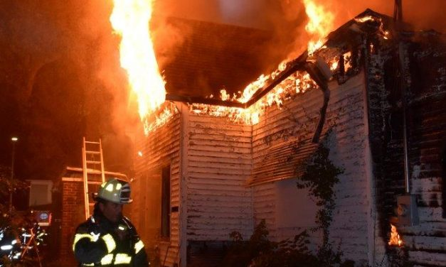 INDIANAPOLIS FIREFIGHTERS BATTLE 3 INTENTIONALLY SET FIRES