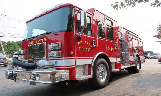 ORLEANS VT TAKES DELIVERY OF NEW PIERCE ENGINE