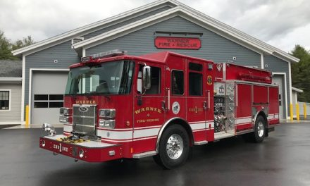 WARNER NH TAKES DELIVERY OF NEW PIERCE SABER PUMPER
