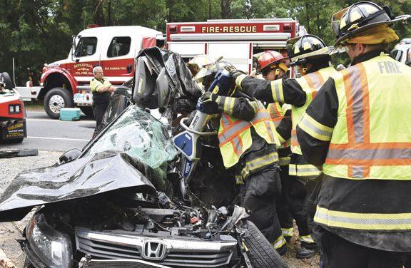 Fatality at Scullville MVA