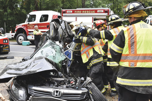 Fatality at Scullville MVA