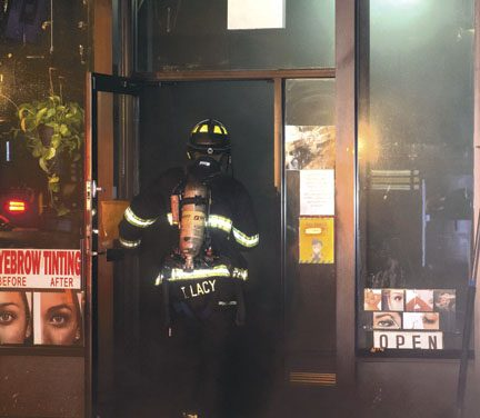 Mount Vernon Commercial Building Fire