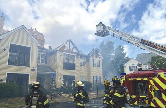 Fishkill Apartment Fire