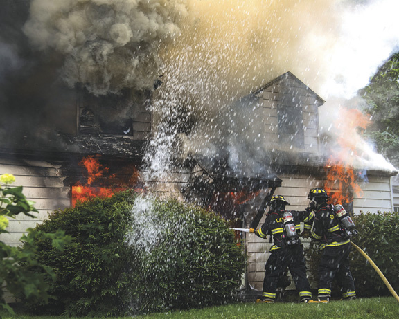 Fire Sends Resident to Burn Unit