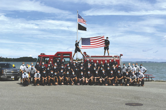 54 New Firefighters