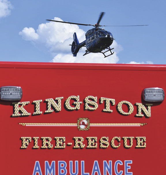 Tractor Accident in Kingston