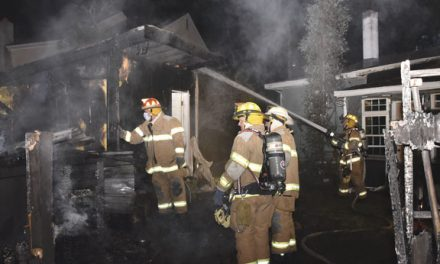 Northfield Storage Building Blaze