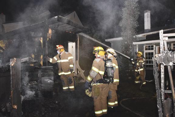 Northfield Storage Building Blaze