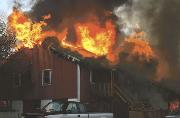 Ellington Barn Fire