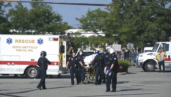 Motorcyclist Injured in N. Amityville MVA