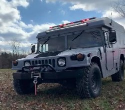 KENTUCKY RESCUE SQUAD HUMVEE STOLEN OUTSIDE STATION