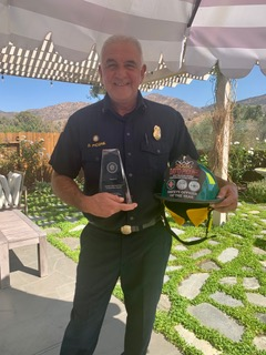 2020 CHIEF SANDY DAVIS SAFETY OFFICER OF THE YEAR AWARDED