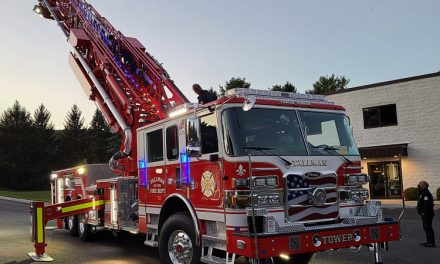 TALLMAN FIRE DEPARTMENT (NY) TAKES DELIVERY OF NEW PIERCE AERIAL TOWER